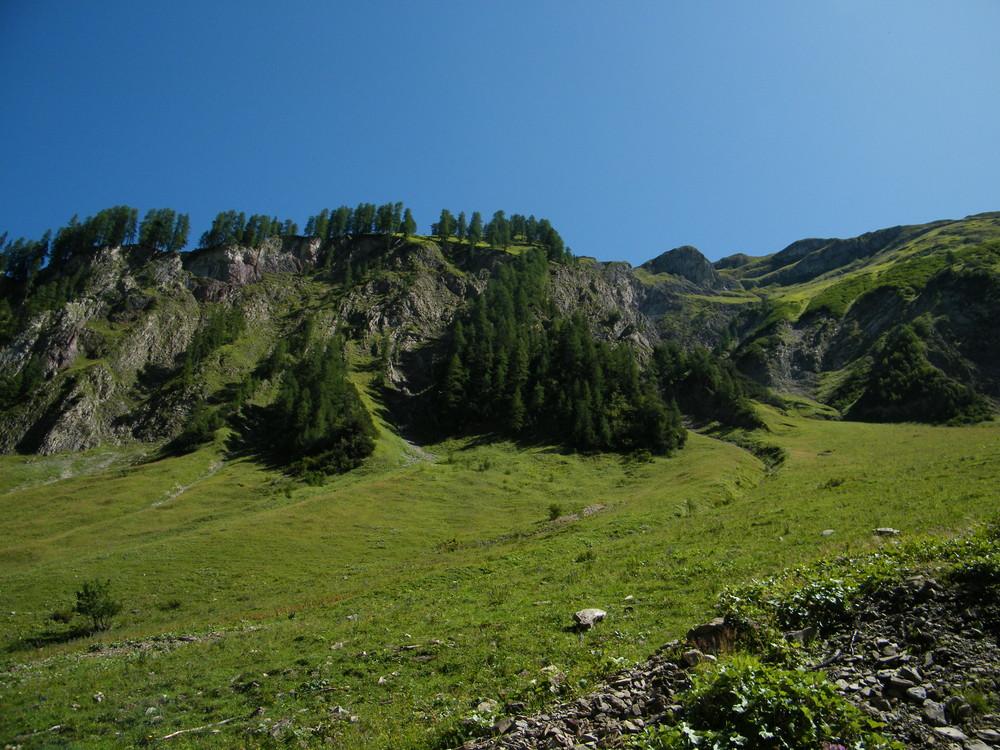 Highlands in den Lechtaler Bergen