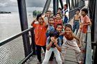 Highlife auf einer Brücke...