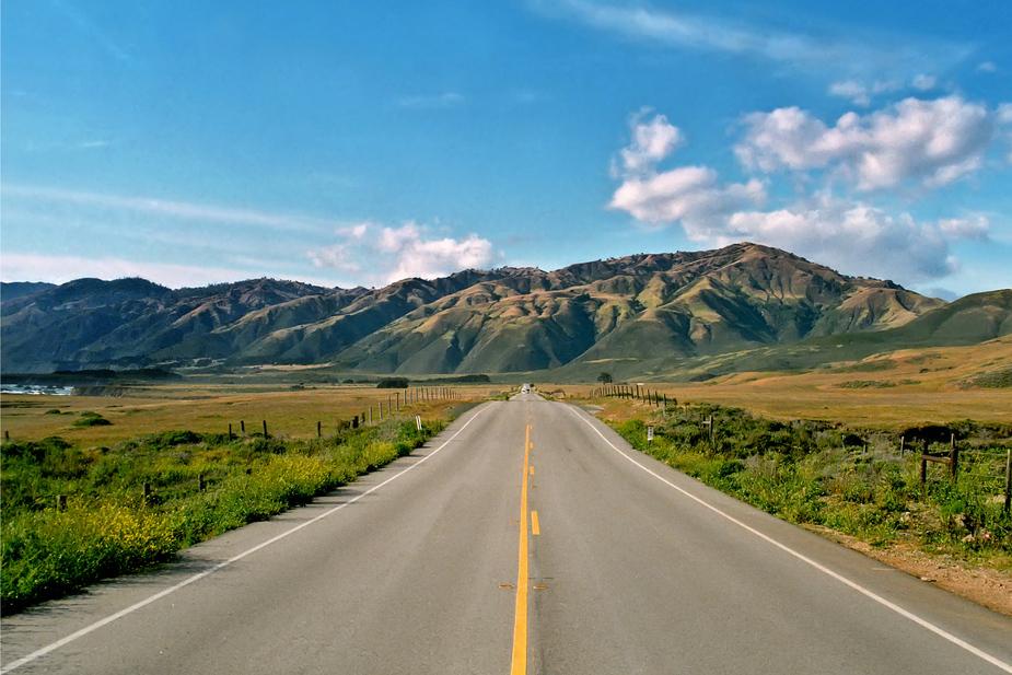 Highway 1 - Cabrillo Highway - Kalifornien - USA