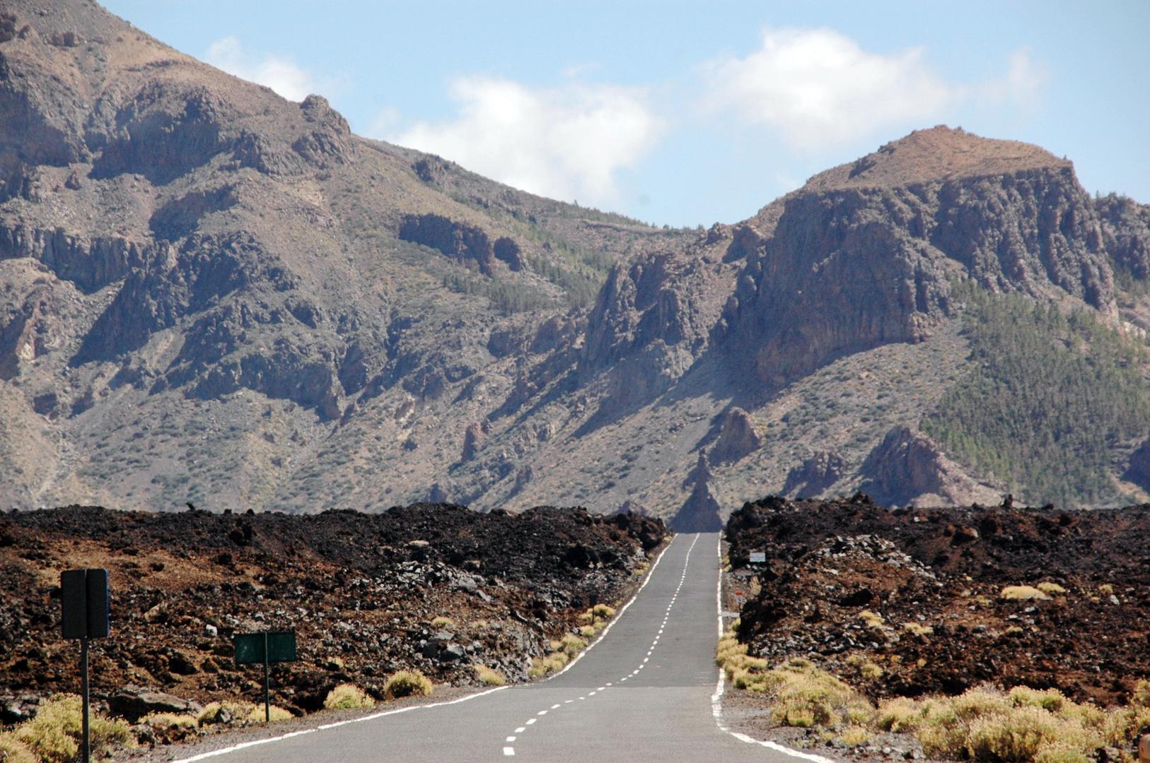 Highway in Teneriffa