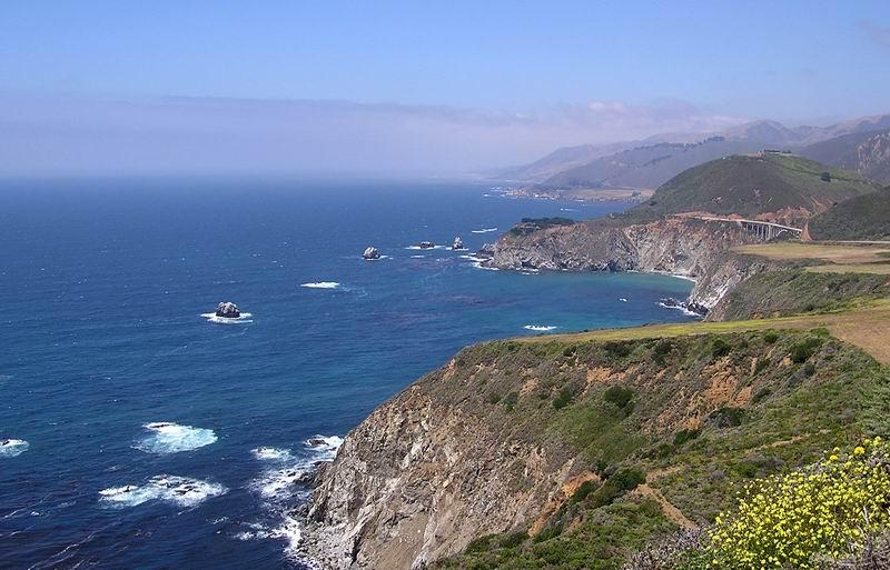 Highway No. 1 in California