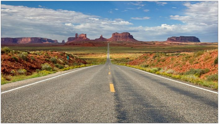 Highway No. 163 - Monument Valley