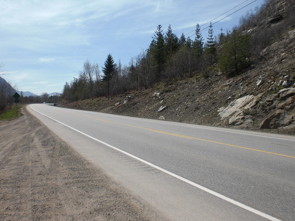 Highway to Castlegar
