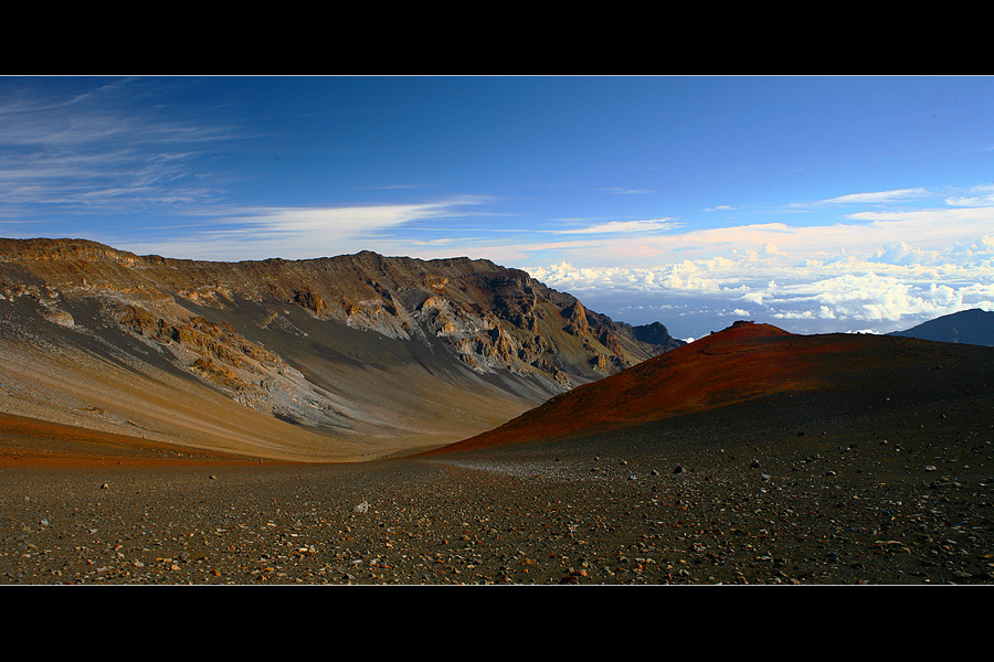 hike into the crater....