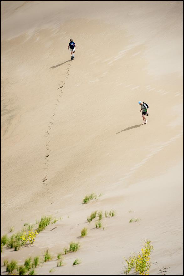 [ Hiking Great Sand Dunes ]