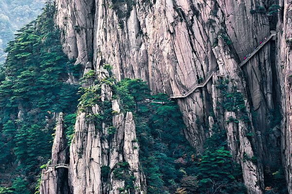 Hiking Yellow Mountain