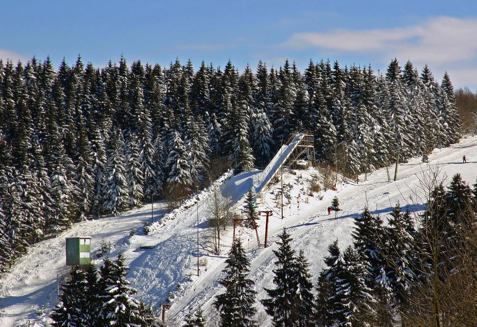 Hilchenbach Lützel Ginsberger Heide Skigebiet