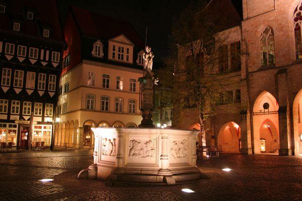 Hildesheim am Marktplatz