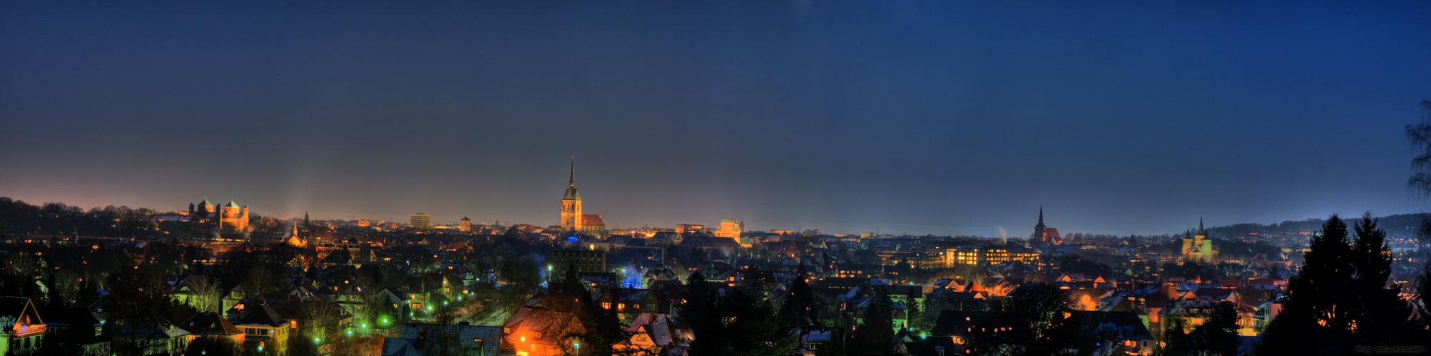 Hildesheim vom Berghölzchen HDR
