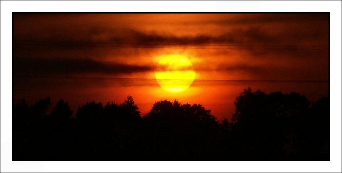 HILFEEEE !!! Sonnenuntergang - mit falscher Blende?? Wer kann mir helfen?