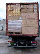 Hilfsgüter für das Krankenhaus in Vilkija.
