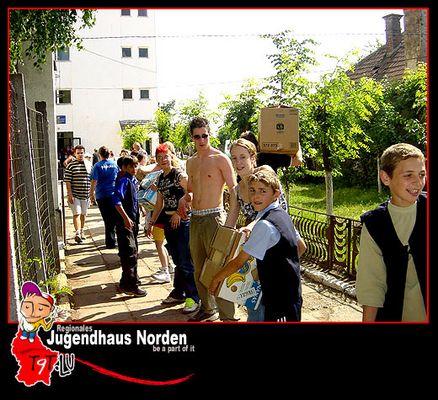 Hilfsprojekt für Rumänien - Mai 2003
