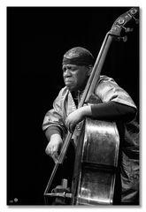 Hilliard Greene (Jemeel Moondoc Quartet)