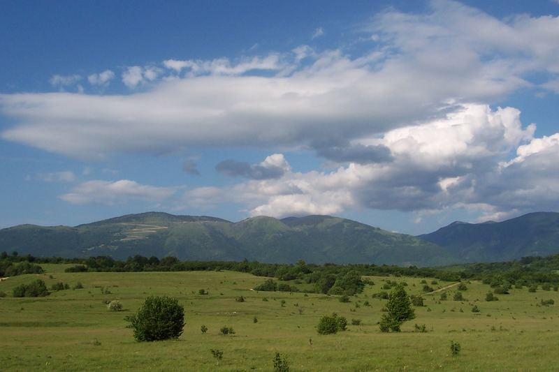 Hills around Gornji-vakuf