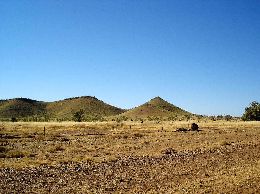 Hills on Tanami Track (III)