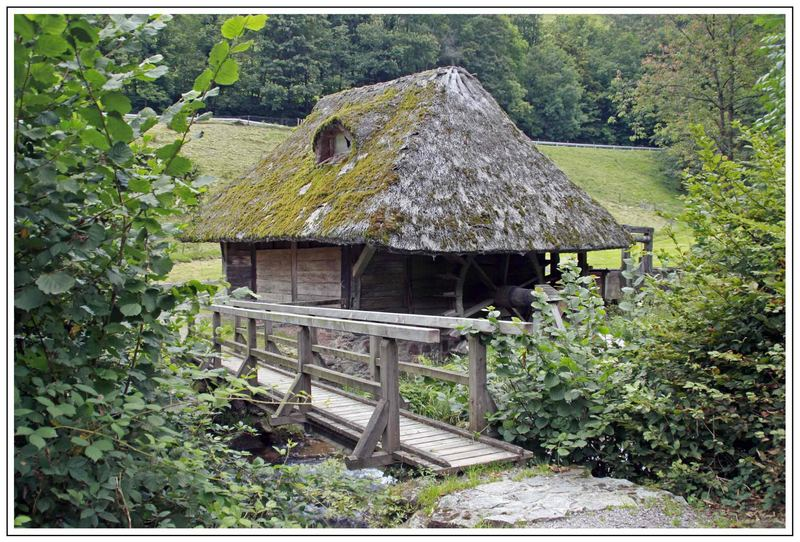 Hilzinger-Mühle im Glottertal / Schwarzwald