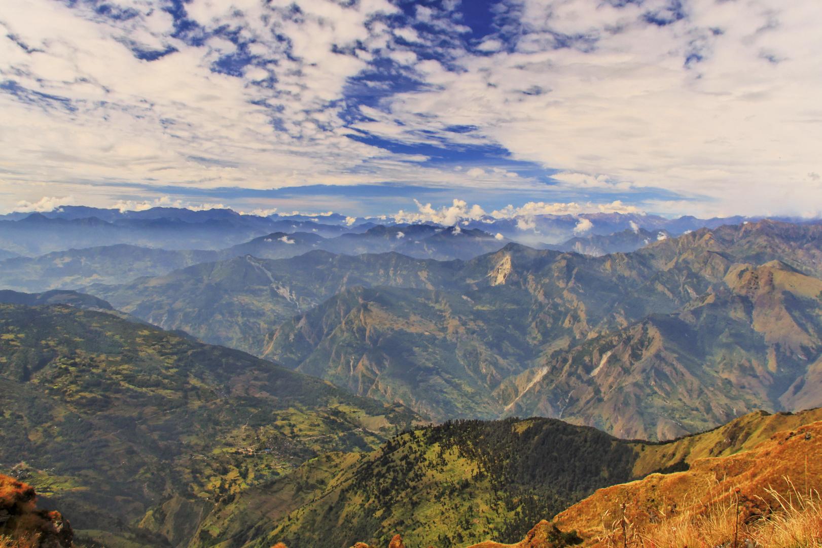 Himalaya bei Khopra Ridge