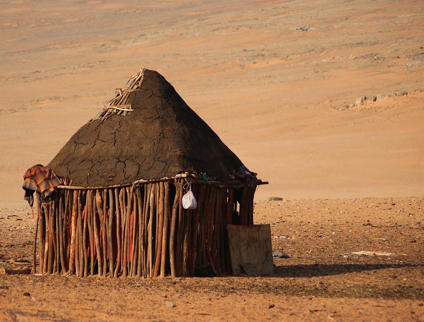 Himba-Hütte