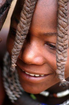 Himba Junge bei Opuwo
