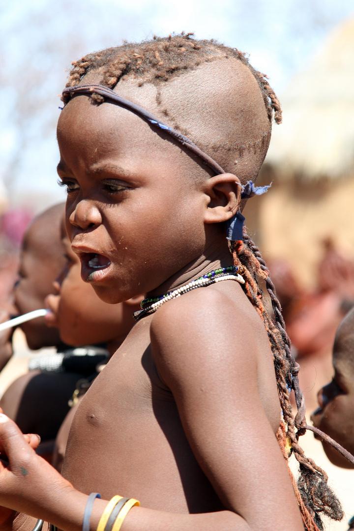 Himba - Mädchen