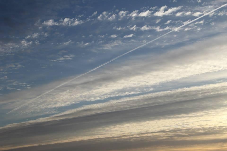 Himmel an der Ostsee