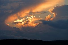 Himmel berührt Seele
