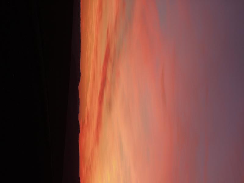 Himmel - Erde oder was sieht man ??