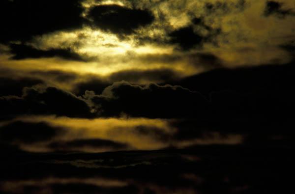 Himmel in Aufruhr