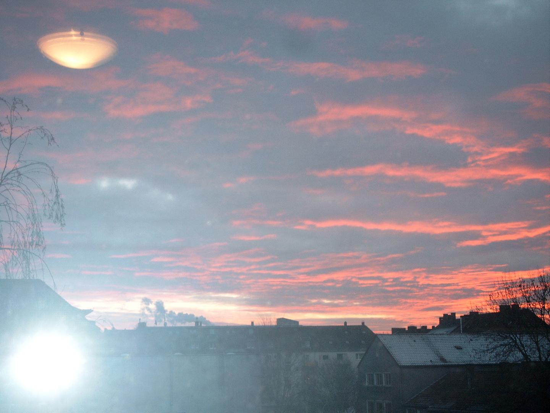 Himmel in der Dortmunder Nordstadt
