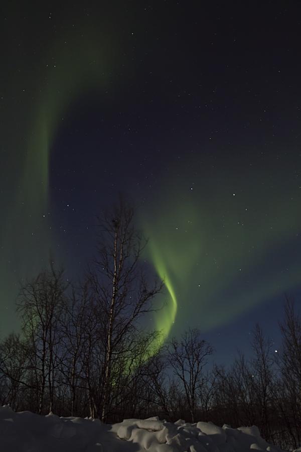 himmel in finnland