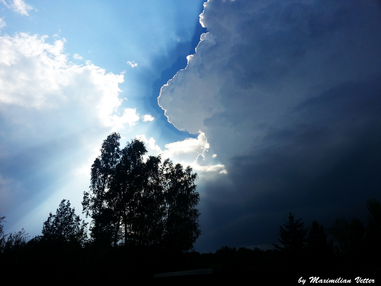 Himmel nach Unwetter
