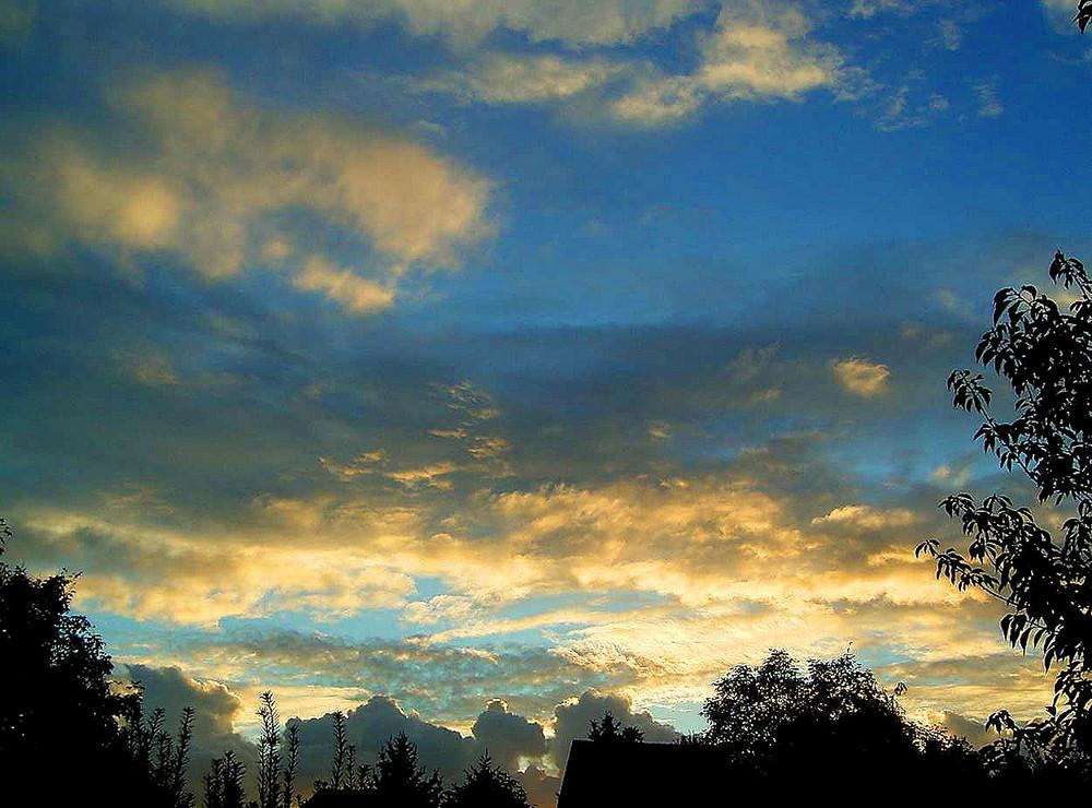 Himmel-Schattenspiel