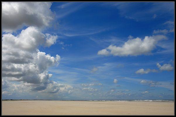 Himmel, Strand, Meer.