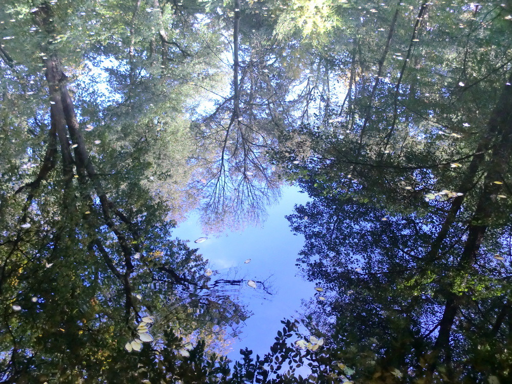 Himmel trifft Wasser