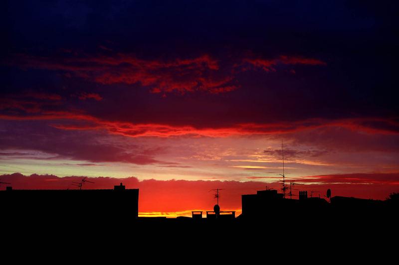 Himmel über Aachen