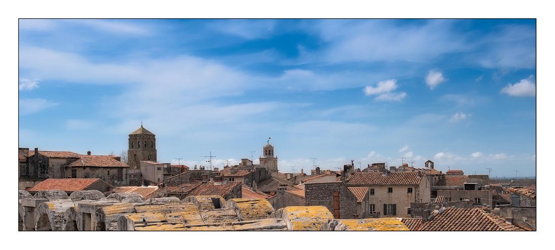 Himmel über Arles