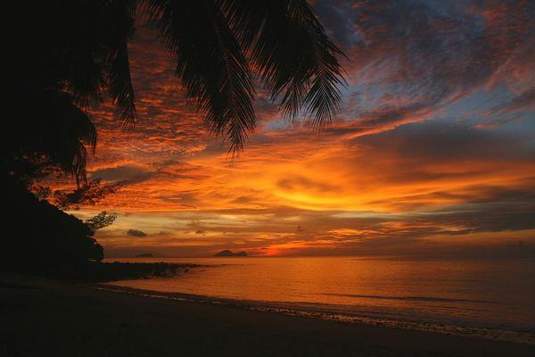 Himmel über Borneo
