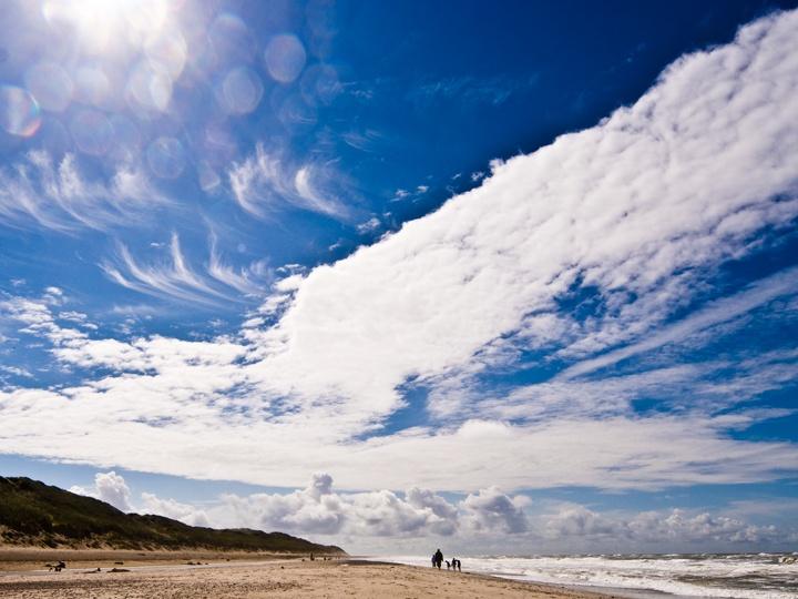 Himmel über Dänemark
