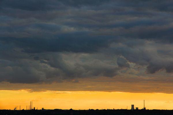 Himmel über dem Ruhrgebiet