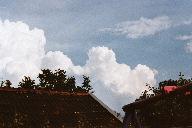 Himmel über den Dächern