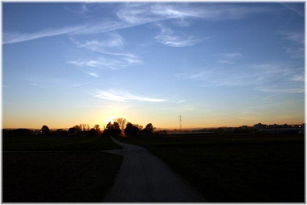 Himmel über Denkendorf