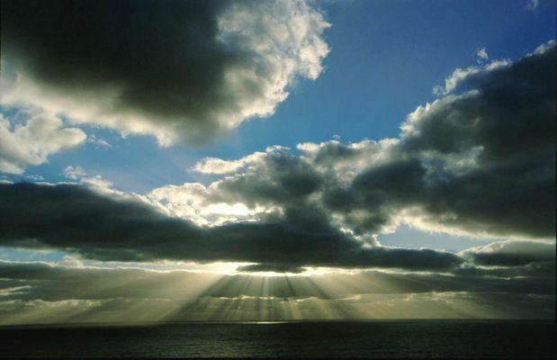 Himmel über der Great Ocean Road