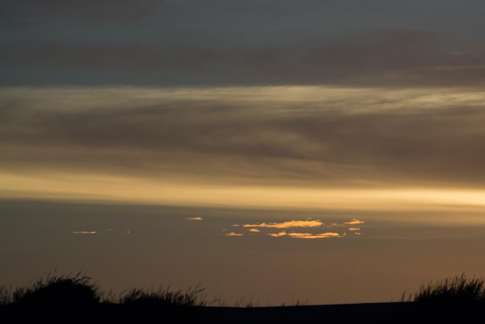 Himmel über der Namib-Wüste