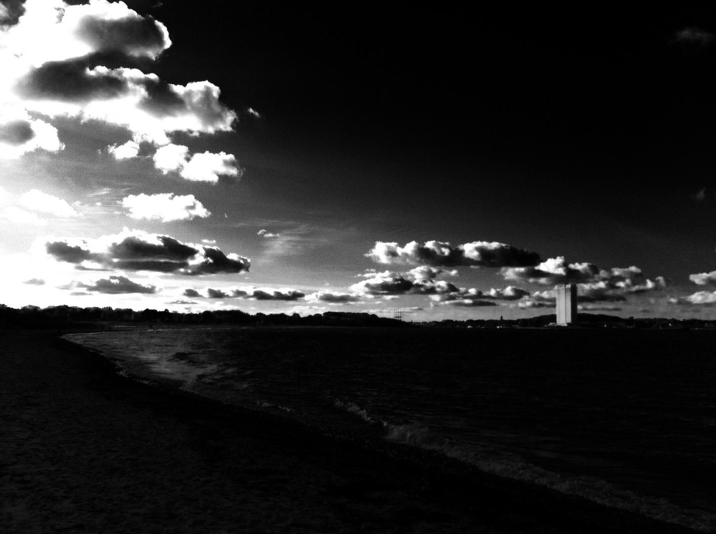 Himmel über der Travemünder Bucht