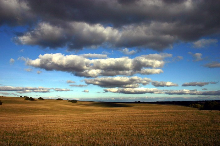 Himmel über der Uckermark