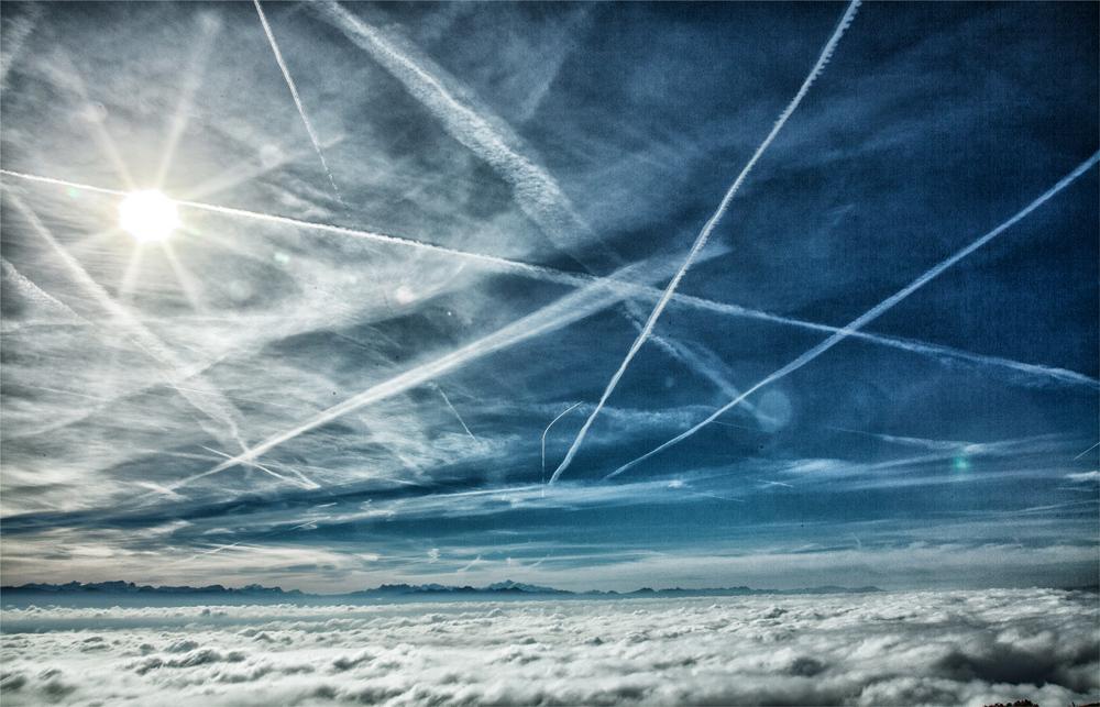 Himmel über der Westschweiz