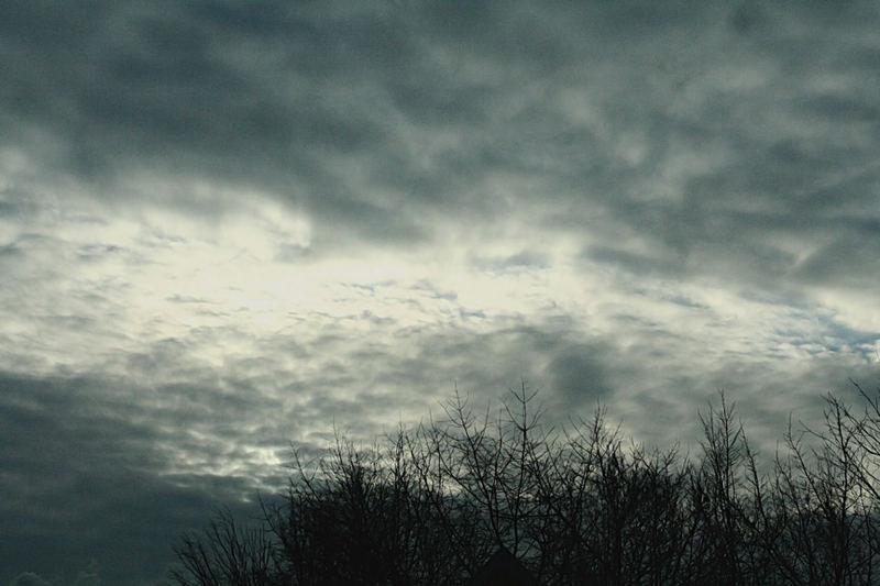 Himmel über Deutschland