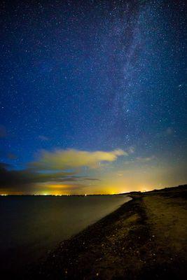 Himmel über Fehmarn, Ostsee
