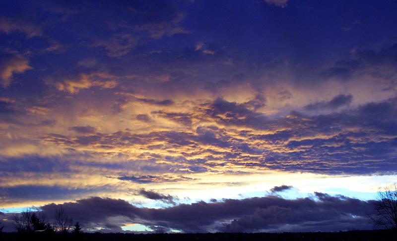 Himmel über Großpösna