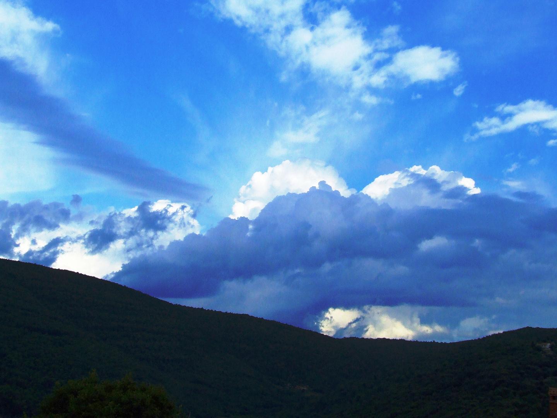 Himmel über Istrien